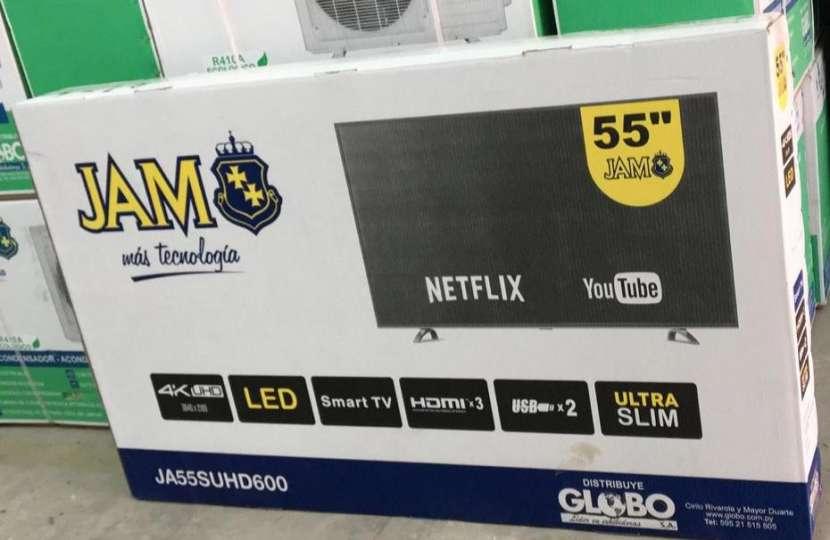 Tv led smart 4k full UHD Jam 55 pulgadas - 2