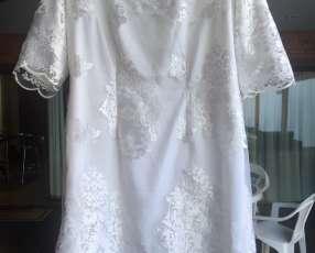 Vestido de novia corto civil