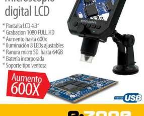 Microscopio cámara digital x600 Pantalla LCD 4.3