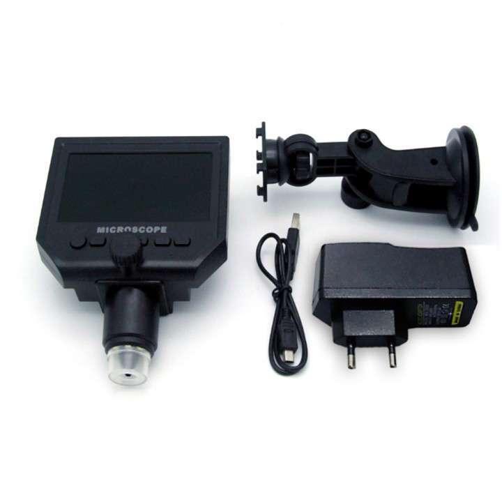 Microscopio cámara digital x600 Pantalla LCD 4.3 - 4
