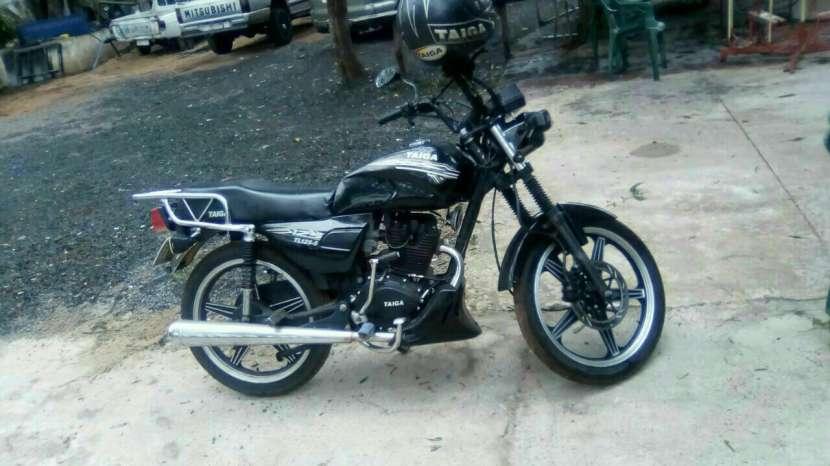 Moto taiga semi nuevo