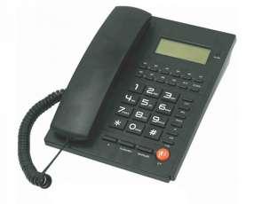 Teléfono de oficina.