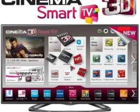 Smart tv led LG 55 pulgadas full HD 3D