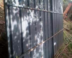 Porton metalico 4x260