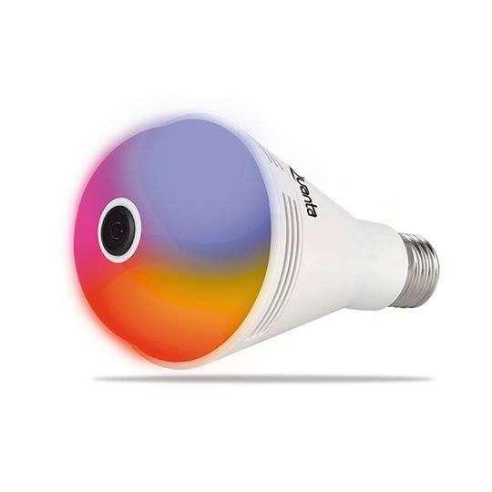 Lámpara LED + cámara IP 360