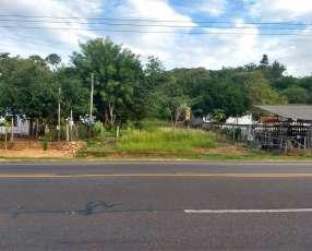 Terreno de 6850 m2 en Caacupé sobre ruta internacional