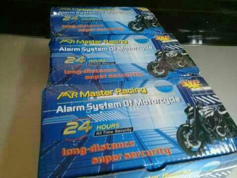 Alarma para motocicleta con cortacorriente - 0