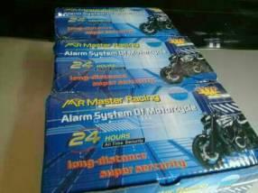 Alarma para motocicleta con cortacorriente