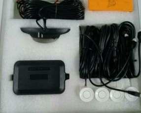 Sensor óptico acústico de estacionamiento para automóvil