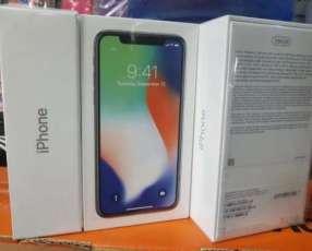 iPhone X de 256 gb nuevo en caja lacrada libre de fábrica