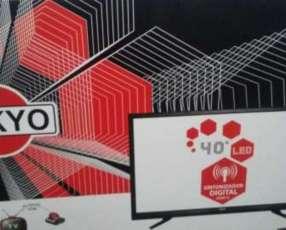 Tv led Tokyo 40 pulgadas full HD 1080 doble entrada hdmi nuevo en caja