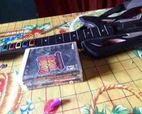 3 juegos ps3 y guitarra