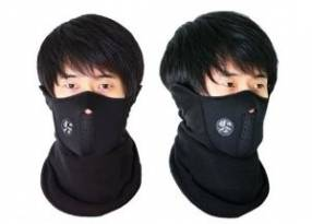 Cubre rostro para el frío