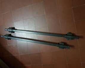 Barras portabulto portaequipaje portaski con llave