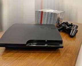 Playstation 3 de 500 gb con 2 controles y 15 juegos