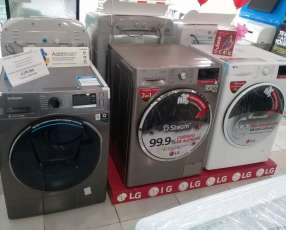 Lavarropas y secarropas LG
