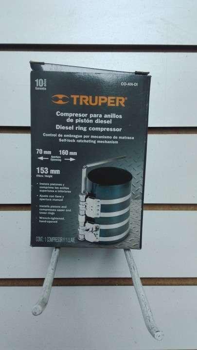 Compresor de aros entre 70mm y 160 mm, para pistones - 0