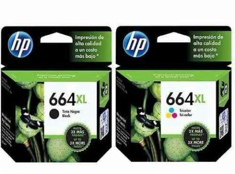 Tintas HP 664 XL - 0