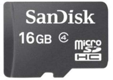 Memoria micro SD 16 gb