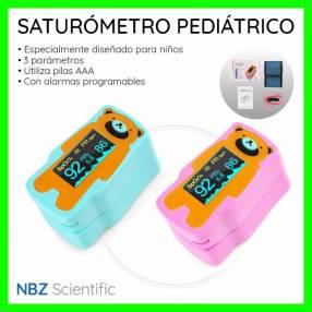 Saturómetro pediátrico