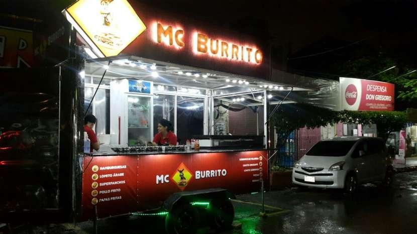 Carro lomitero Food truck