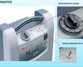 Concentrador y nebulizador Nuvo Lite Mark 5