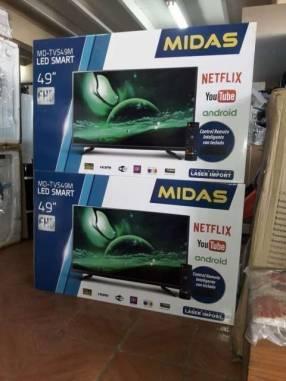 TV LED Smart Midas 49 pulgadas