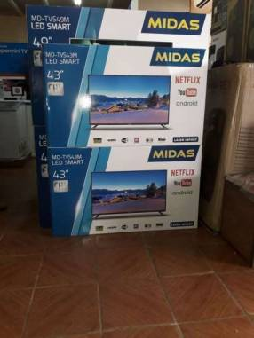 Tv led smart Midas 43 pulgadas