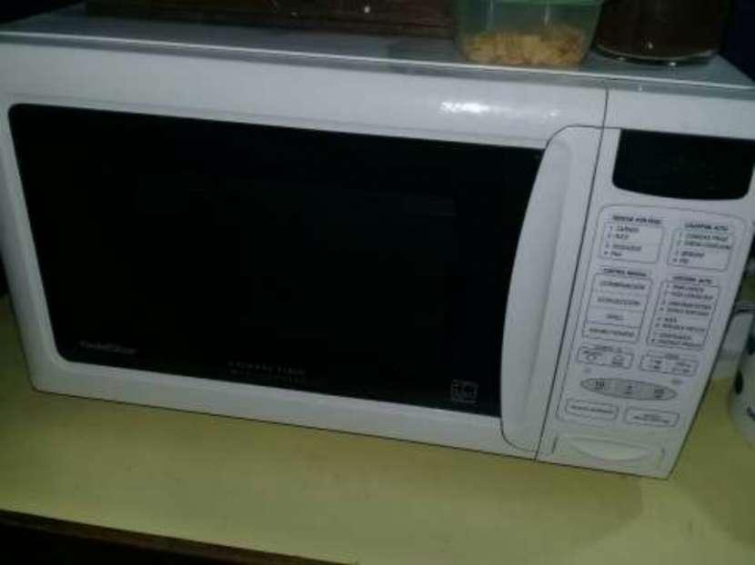 Microonda y horno eléctrico
