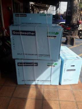 Aire acondicionado Goodweather 18.000 btu