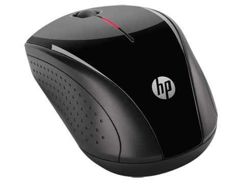 Mouse inalámbrico Hp X3000 Negro - 0