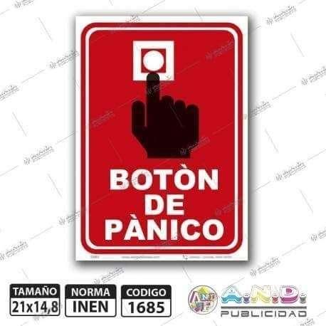 Botón de pánico conectado a sirena - 0