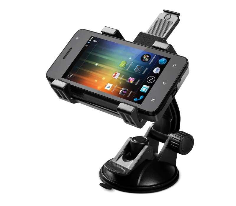 "Soporte universal para celulares-tablets-gps de 4"" a 8"""