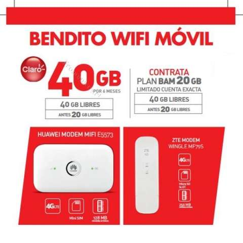 Huawei E5573 Wifi 4g Lte Portatil Solo Chips Claro 4g Lte