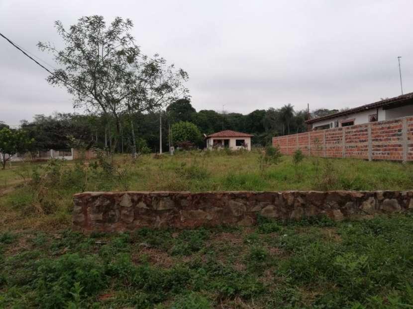 Terreno detrás de la Municipalidad de capiata