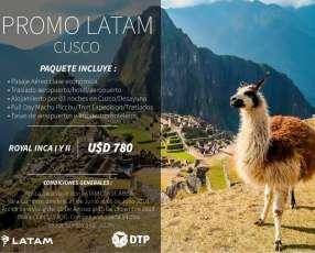 Paquete de viaje Cusco