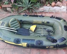 Bote inflable para pesca Sevylor. Fish Hunte HF 280.