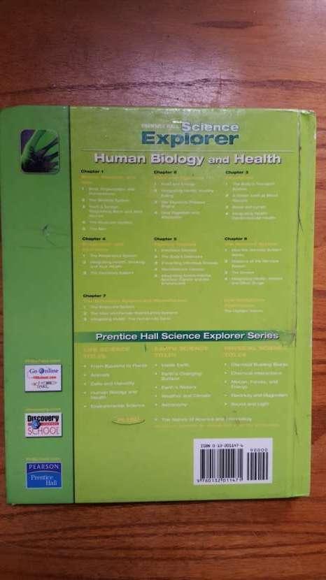 Libro educativo en inglés Science, Biology, Health - 1