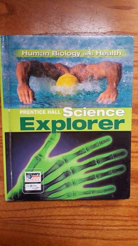 Libro educativo en inglés Science, Biology, Health - 0