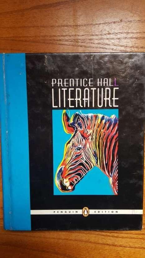 Libro con historias en Inglés. Prentice Hall LITERATURE. - 0