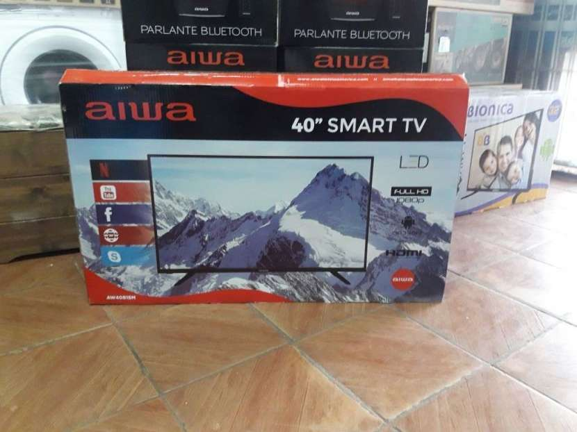 Tv led smart Aiwa 40 pulgadas - 0