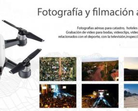 Fotografía y filmación aérea con Dron