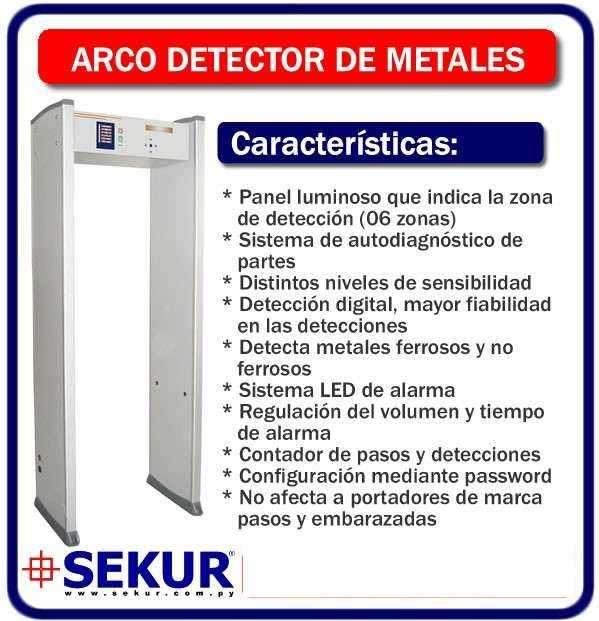 Arco detector de metal