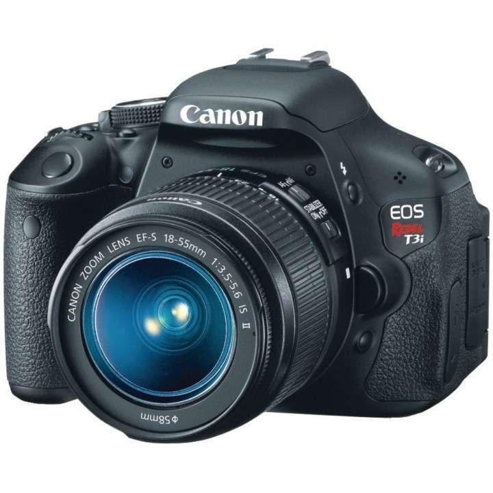 Canon EOS 600D DSLR Rebel T3i + Lente 18-55