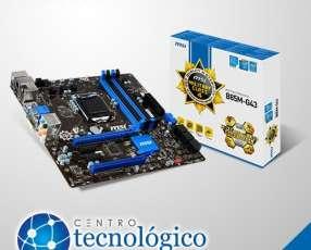 Placa Madre MSI LGA 1150 B85M-G43 S/V/R/DVI