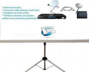TV Satelital FTA mas de 400 canales