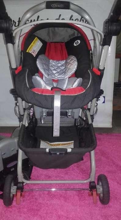 Stroller + baby car Graco - 0