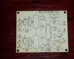 Circuito impreso profesional convertidor 12v/220V