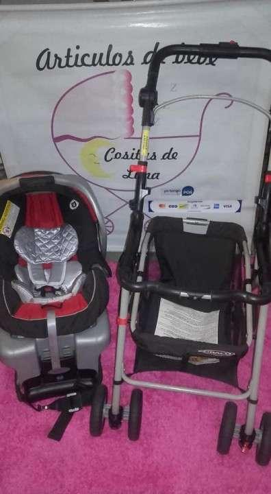 Stroller + baby car Graco - 1