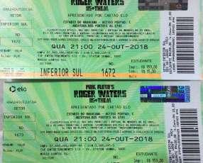 Entradas concierto Roger Waters en Maracana